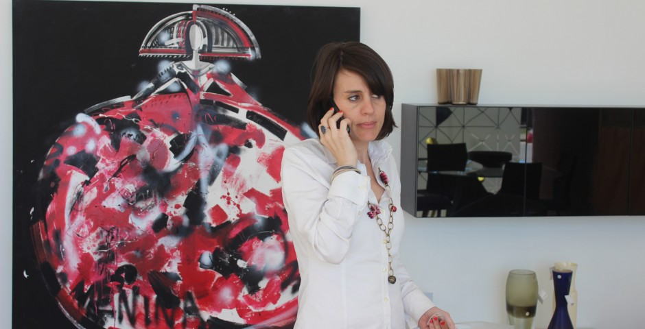 Nuestra diseñadora de interiores Virginia Galvañ